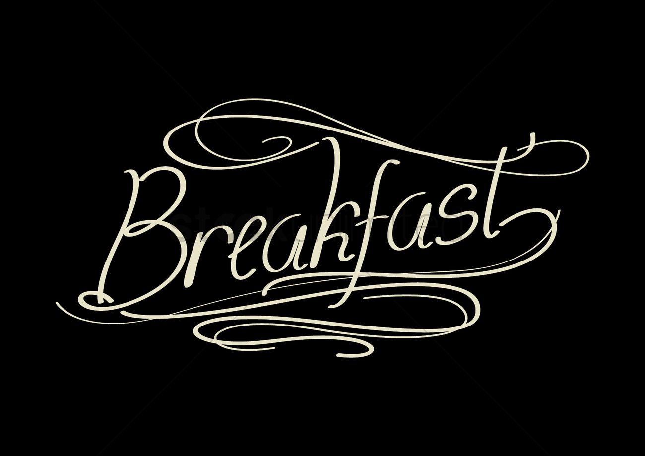 Image result for breakfast word
