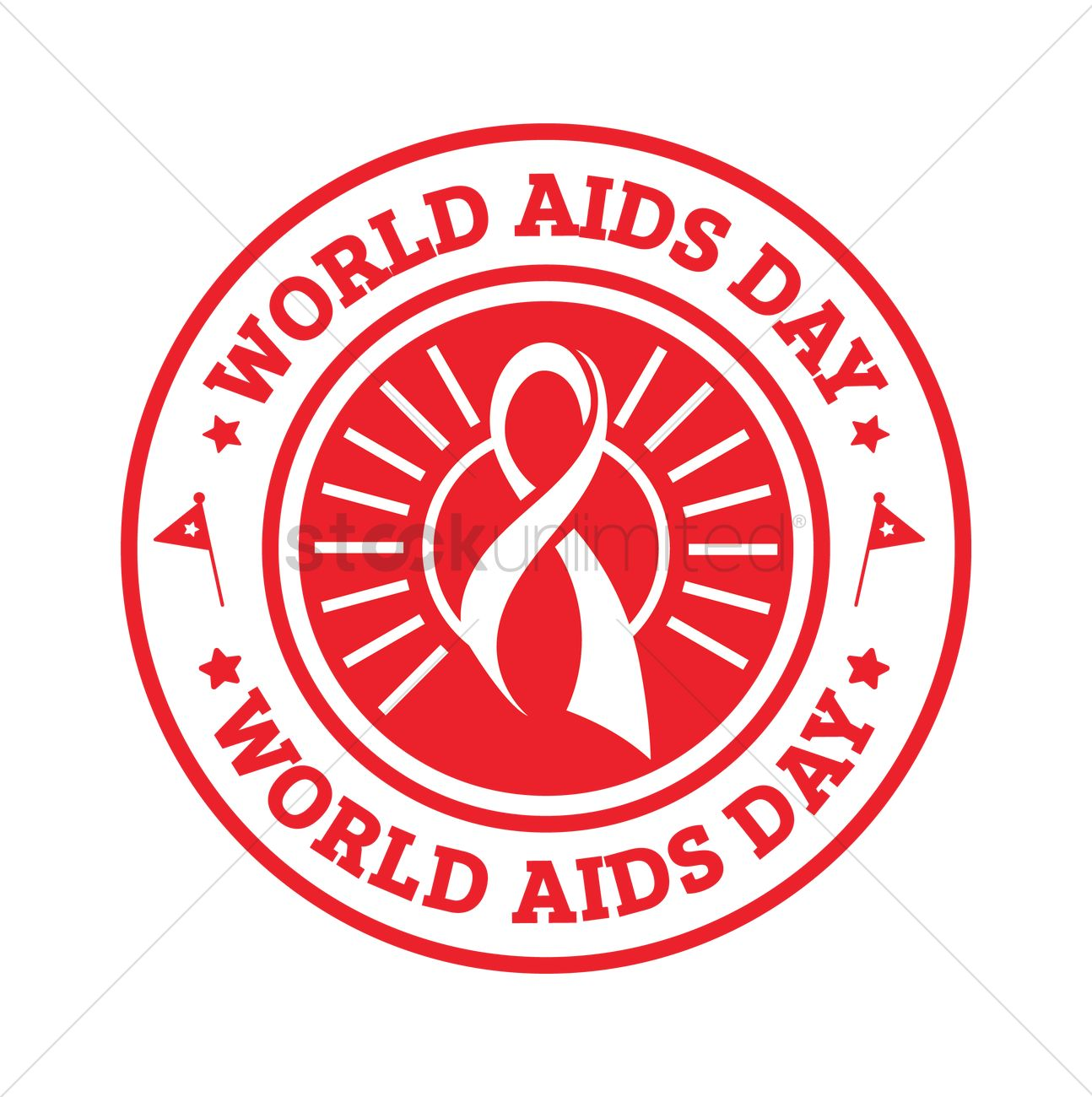 World aids day design Vector Image - 1976056 | StockUnlimited