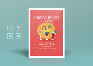 Templates : Summer Party Poster Design