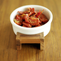 Popular : A small bowl of dried tomatoes