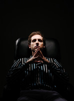Popular : Businessman sitting on the chair thinking
