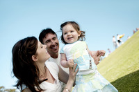 Popular : Family in the park
