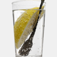 Popular : Gin and tonic with lemon