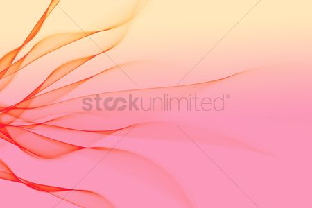 Pink : Abstract design with multi-colored lines
