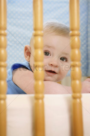 Gladness : Baby boy placed in a crib