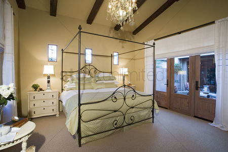 Interior : Bedroom in luxurious residence