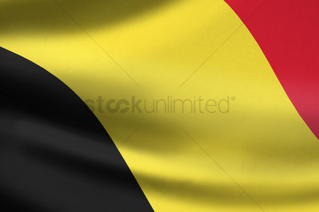 Match : Belgium flag waving