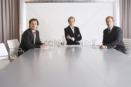 Business suit : Business executive team in conference room