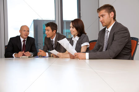 Business suit : Business team meeting in office