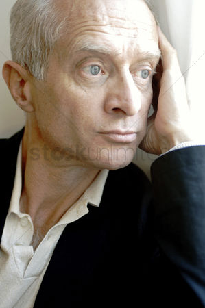 Thought : Businessman in deep thought