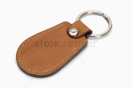 Accessories : Close-up of a key ring