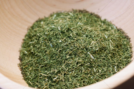 Pile : Close up of dried thyme
