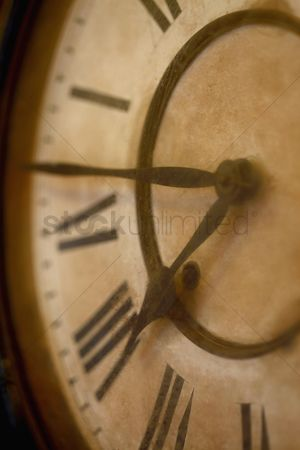 No people : Close-up of old clock