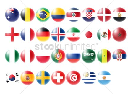 Sets : Collection of country flags