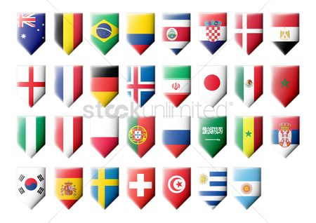 Sets : Collection of flag pennants