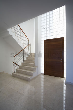 Stairs : Cyprus entrance hall and staircase of contemporary house