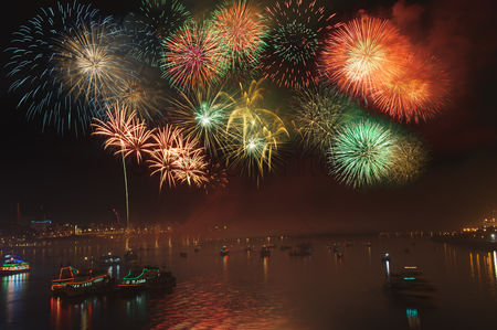 China : Dadaocheng fireworks