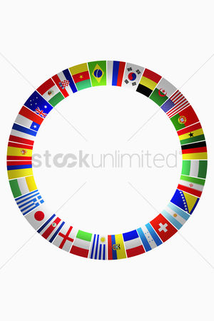 Match : Flags for representing countries