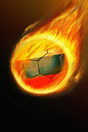 Nationality : Flaming russia soccer ball