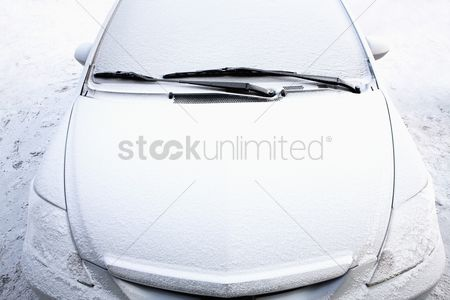 China : Frosty car