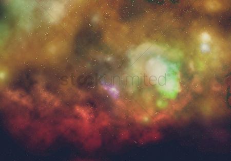 Background abstract : Galaxy background design