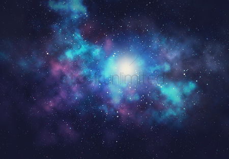 2001752 Dark Background Galaxy Design