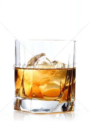 Celebration : Glass of whisky - studio shot
