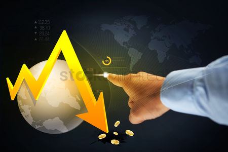 Free Finger Pointing Down Stock Vectors Stockunlimited
