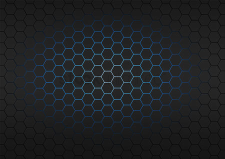 Hexagon : Honeycomb background design