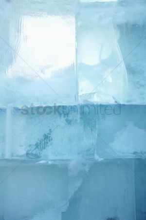 No people : Ice bricks