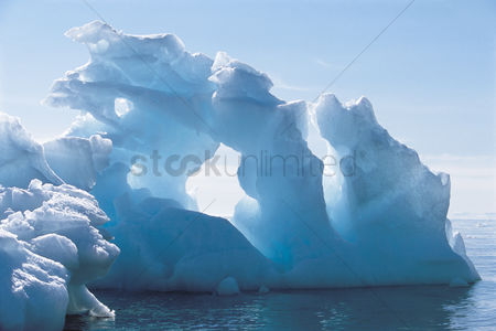 Remote : Iceberg and water