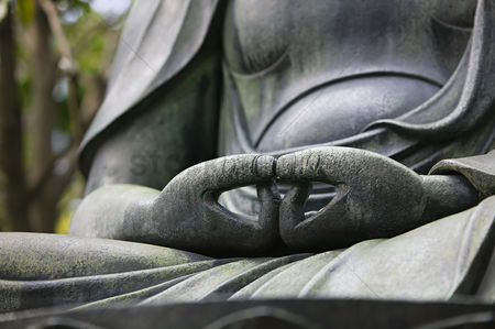 God : Japan tokyo senso-ji buddha hands close-up