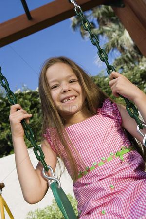 Sets : Little girl on a swing