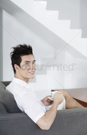 Adulthood : Man enjoying a cup of coffee