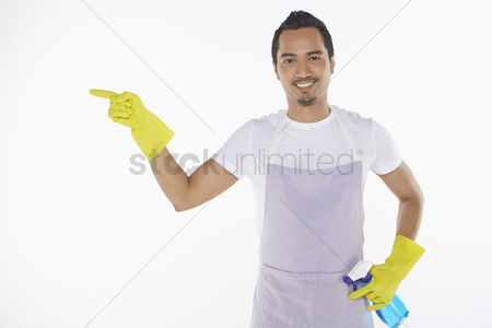 Masculinity : Man showing hand gesture