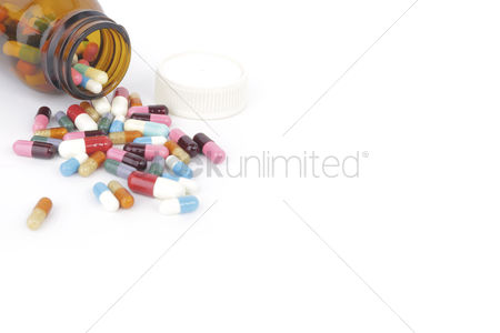 Medication : Medical pills concept