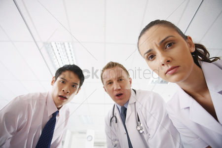 Asian : Medical professionals in shock