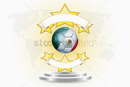 Nationality : Mexico soccer ball emblem