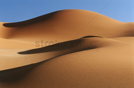 Abstract : Namibia namib desert sand dunes