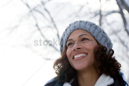 British ethnicity : Portrait of a mature woman