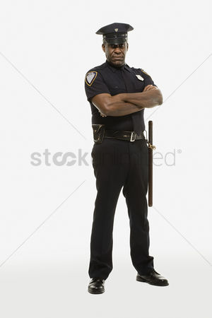 Respect : Portrait of a police officer