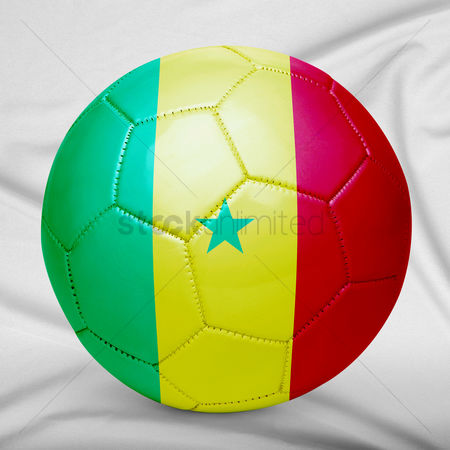9bb3ee71ba4 2090032 Senegal   Senegal flag design on a ball