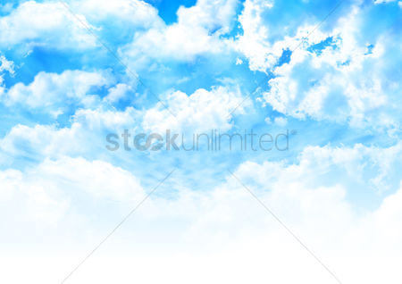 Cloud : Sky background