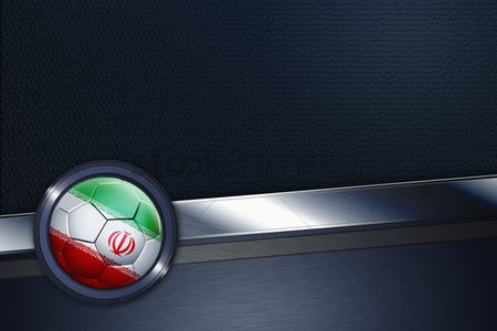 Nationality : Sports interface with iran soccer ball