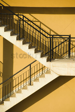 Staircase : Staircase of a building  malta
