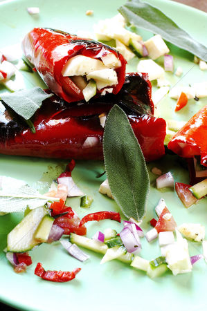 Appetite : Stuffed chillies