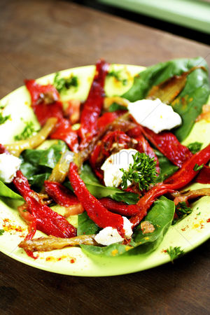 Appetite : Sundried tomatoes and red pepper salad