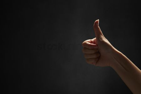 Malaysian chinese : Thumbs up gesture