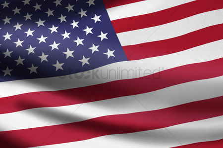 Match : United states of america flag waving