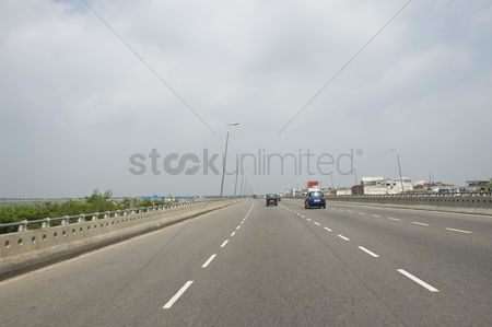 On the road : Vehicles on a highway  national highway 8  new delhi  india